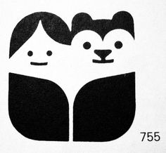 ffffound #logo #print #kid #bear