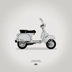 Icons, by Silence Television #inspiration #creative #design #graphic #scooter #illustration