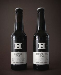 Harbour 330ml Craft Range #packaging #beer #label #bottle