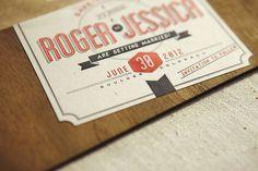 flourish letterpress wedding invites #type #letterpress #invite