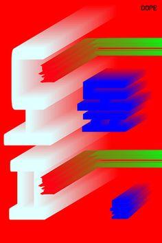 Dope Poster by Eddie Bong www.eddiebong.com