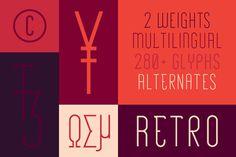 Roehampton style tile https://creativemarket.com/gibsontypefoundry/62656-Roehampton #font #lettering #retro #glyph #condensed #type #character #typography