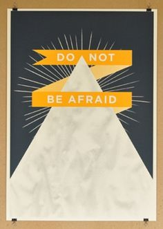 Design Crush » posters #silkscreen #afraid #design #nous #screenprint #do #not #illustration #be #vous