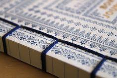Bon Journal, letterpress #binding #books