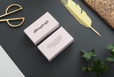 allthingsbright by Louise Jansson #business #cards