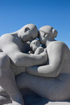 photo #norway #family #sculpture #stone