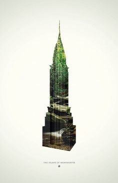Empire state of nature poster