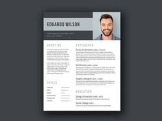 Bold Elegant - Free Elegant Resume Template for Any Job Opportunity