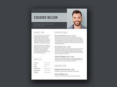 Bold Elegant - Free Elegant Resume Template for Any Job Opportunity