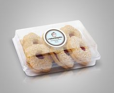I Dolci Sapori - Brand identity #bakery #baker #patisserie #packaging #design #biscuits #brand #identity #caselli #anna #biscuit