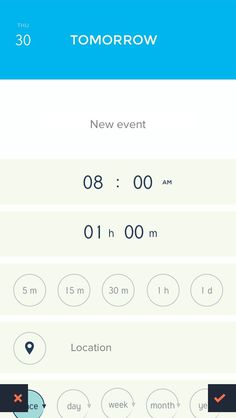 Peek Calendar #iphone #ui