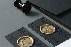Deeb Brothers Branding & Identity #ebastian #stamp #ink #branding #bankers #lca #corporate #needler #identity