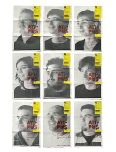 ATIPUS Graphic Design From Barcelona, disseny grà fic, disseny web, diseño gráfico, diseño web #yellow