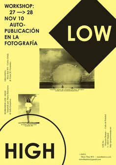 Workshop LOW HIGH (Madrid) #poster