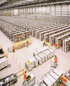 Amazon Unpacked9 #shelfs #industry #hall