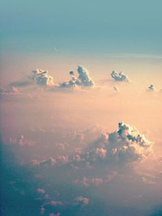 via ABRAHUMJAPAN #floating #clouds #sky