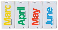 Barcelona pocket tour guides by Studio Astrid Stavro #brochures #print