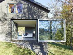 © Thomas Jantscher #archdaily #house #barn