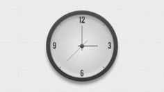 Wall clock Free Psd. See more inspiration related to Clock, Wall, Psd and Horizontal on Freepik.