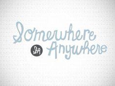 Dribbble - Somewhere Anywhere 2 by Alexander C. Sprungle #progress #in #blog