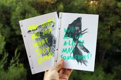 I'm not a hipster on Behance #paper #print #color #graphic