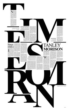 Times New Roman on Behance #mbt