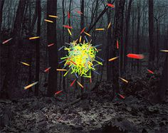 Thomas Jackson - Hovering Objects Photographed #objects #photo #nature #hovering #manipulation