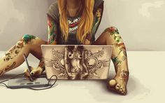 30 Amazing Illustrations for Your Tattoo Ideas #ideas #tattoo #illustrations