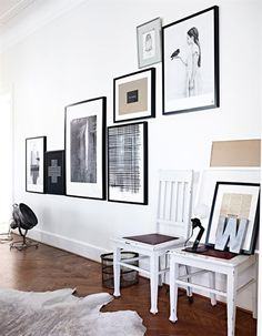 Classic Art Hanging Trend: How to Hang Art Off Center | Apartment Therapy #interior #gallery #prints #decor #art