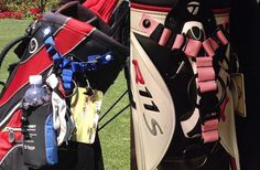 Snap Hookz Golf Bag Organizer #tech #flow #gadget #gift #ideas #cool