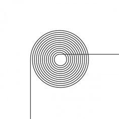 minimalvision 17 – Driving pleasure #minimal #minimalism #geometric #circle #spiral #line