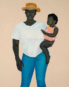 Incredible Portrait Paintings of African Americans by Amy Sherald