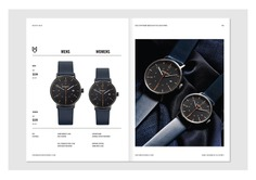 Mister Wolf Watches Identity - Mindsparkle Mag Nick Barclay designed the identity for Mister Wolf – a brand that produces high-quality, thoughtfully designed timepieces for men and women that are designed and assembled in Sydney. #logo #packaging #identity #branding #design #color #photography #graphic #design #gallery #blog #project #mindsparkle #mag #beautiful #portfolio #designer