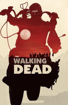The Walking Dead Poster by bigbadrobot #illustration #design #graphic #art