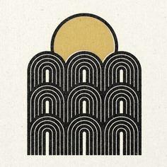 'Arches' Print