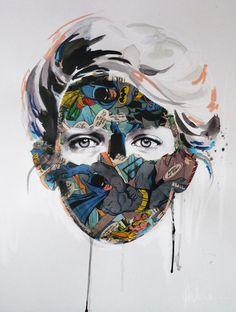 La Cage ... F C H i C H K 'L #art #mixed media