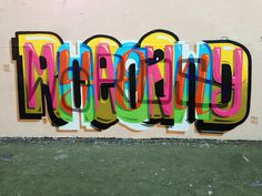 Typeverything.com #graffiti #colorful