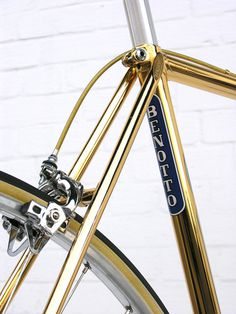 Dailymovement #frame #pimping #bicycle #bike #gold