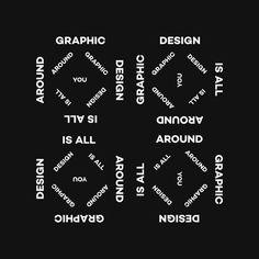 Graphic Design Is All Around You #canefantasma #manes #graphic #design #around