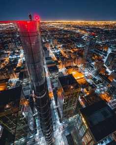 Dazzling Photos of Toronto Taken From The Rooftops by Max Whitehead