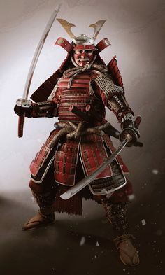 Cover image /Tutorial #3d samurai