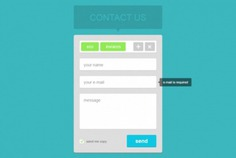 Contact form widget in flat design Free Psd. See more inspiration related to Design, Flat, Contact, Flat design, Form, Psd, Block, Contact form, Horizontal and Widget on Freepik.