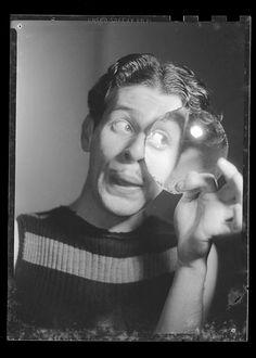 Alejandro Jodorowsky photographed by Alfredo Molina Lahitte, c.1955