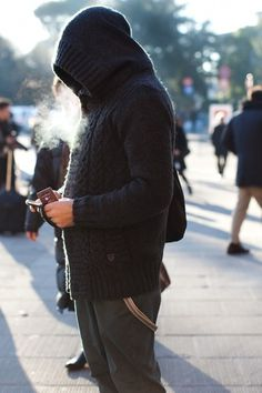 On the Street….Hoodie, Florence « The Sartorialist #fashion