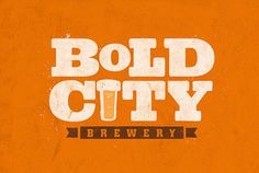 Bold City Brewery Logo #beer #can #label