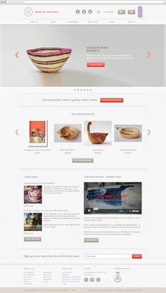 Home of Artisans Branding and website design