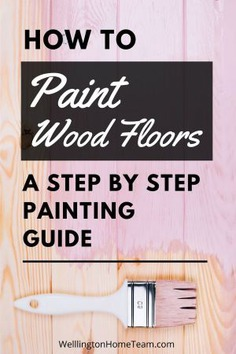 How to Paint Wood Floors | A Step By Step Painting Guide