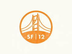 Field Trip SF mark / Mauricio Creme #orange #san #sf #francisco #logo