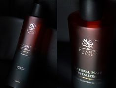 Bottle designed for Indfrag Limited Ltd Natural Hair Vitalizer - Hair Care Product See more on: http://www.giovannimule.it/portfolio/indfr
