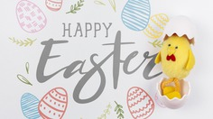 Happy easter day Free Psd. See more inspiration related to Mockup, Template, Animal, Typography, Chicken, Spring, Celebration, Happy, Font, Holiday, Mock up, Easter, Religion, Egg, Toy, Calligraphy, Lettering, Traditional, Shell, View, Up, Day, Top, Top view, Cultural, Tradition, Mock, Seasonal, Plush, Egg shell, Paschal and Plush toy on Freepik.